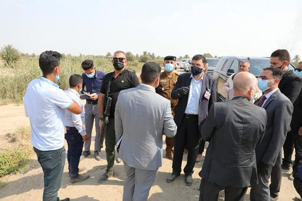 The Minister of Water Resources Inspects in the field the work of closing the Illegal Outlets in the Alexandria District