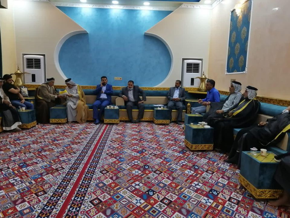 The Marshlands and Wetland Projects Department in Thi Qar Holds a Meeting with the people of the Hammar Marsh
