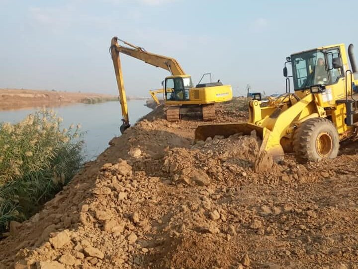 MAIN OUTFALL DRAIN MANAGEMENT IN BABIL REMOVES SEDIMENTS