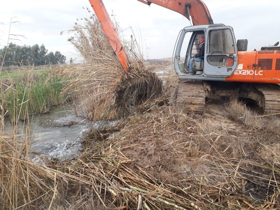 DIRECTORATE OF MAINTAINING IRRIGATION AND DRAINAGE PROJECTS  MANAGEMENT IN DIYALA GOVERNORATE CLARIFYS DD1/6 DRAIN