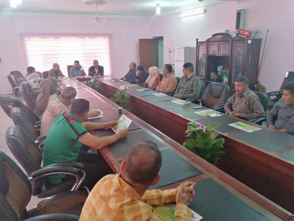 DIRECTORATE OF WATER RESOURCES MANAGEMENT IN DIYALA HOLDS TECHNICAL MEETING TO DISCUSS CAR TUNING