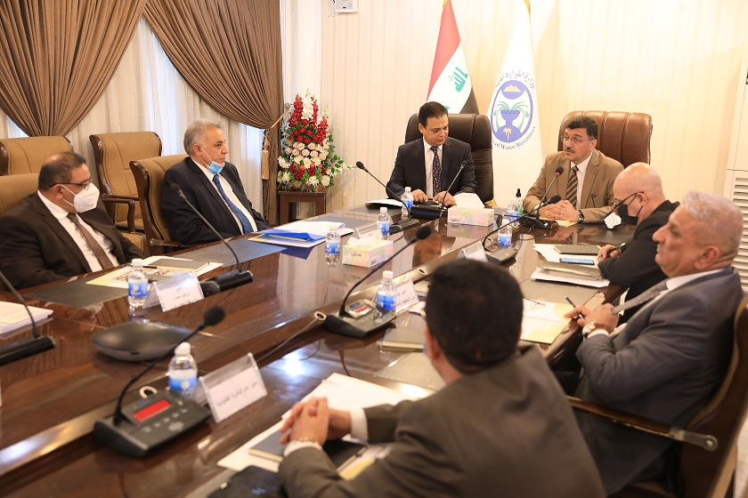 The Iraqi-Egyptian Joint Technical Committee held a meeting